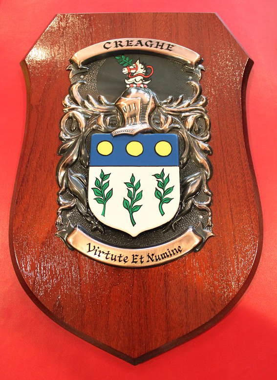 Creaghe Family Coat of Arms