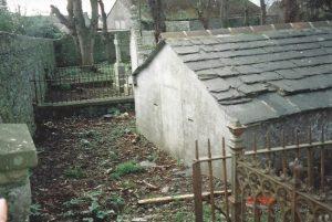 Vault, Rear View,Entrance 1998