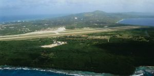 Airport, south end, Saipan