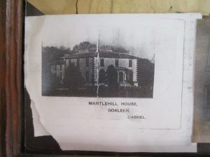 Castle Park House(Creaghe) then MantlehillHouse(Skully)
